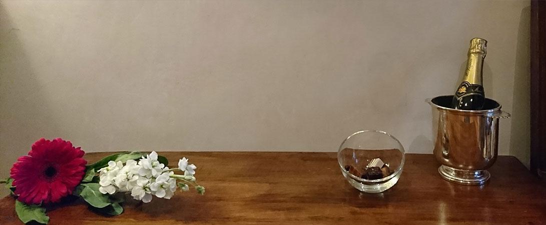 chambre margot bandeau ch teau de la servayrie chambres d 39 h tes pr s de conques et rodez. Black Bedroom Furniture Sets. Home Design Ideas