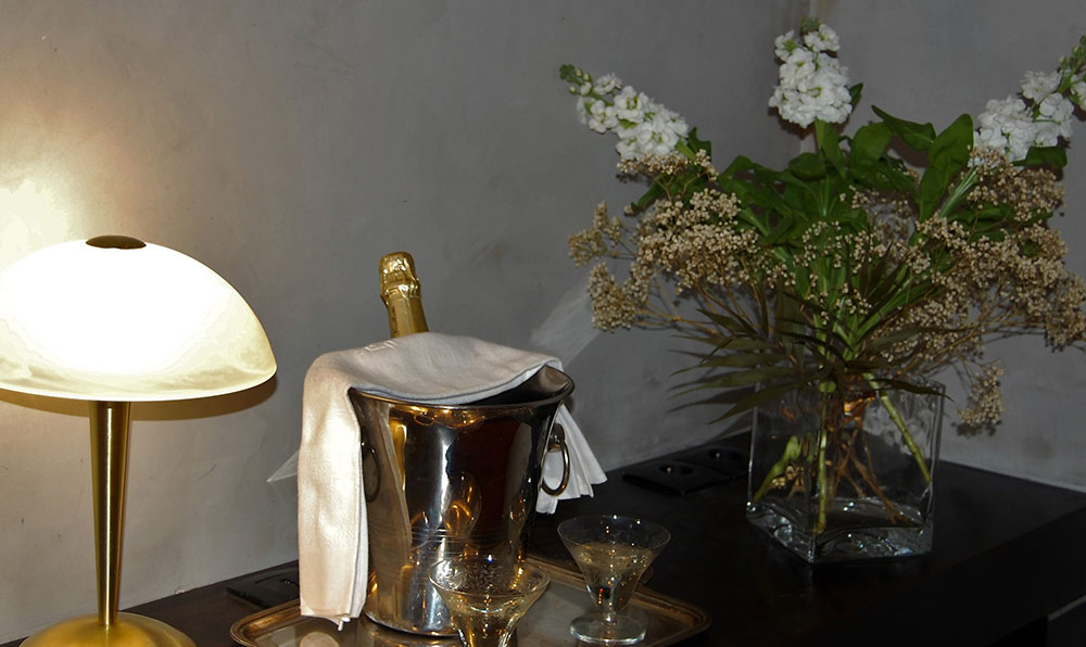 Chambre d'hôtes-Pot-de-bienvenue