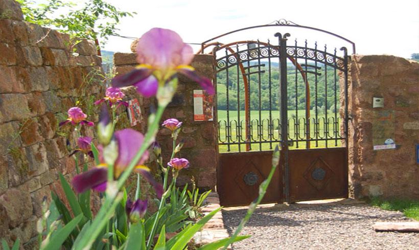 Fleurs-château-extérieur